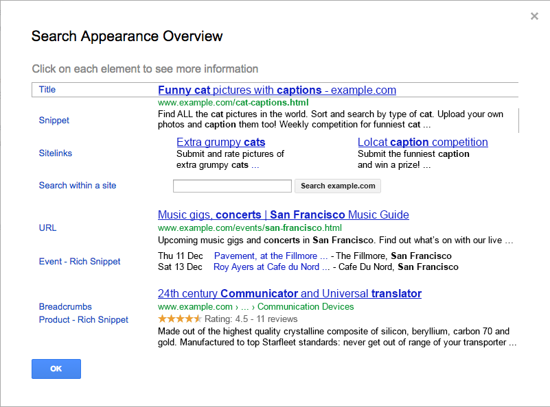Google搜索结果